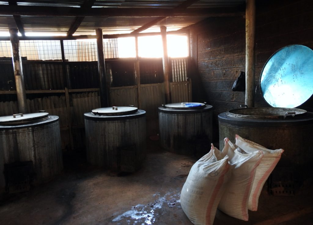 The kitchen at Olympic Primary School